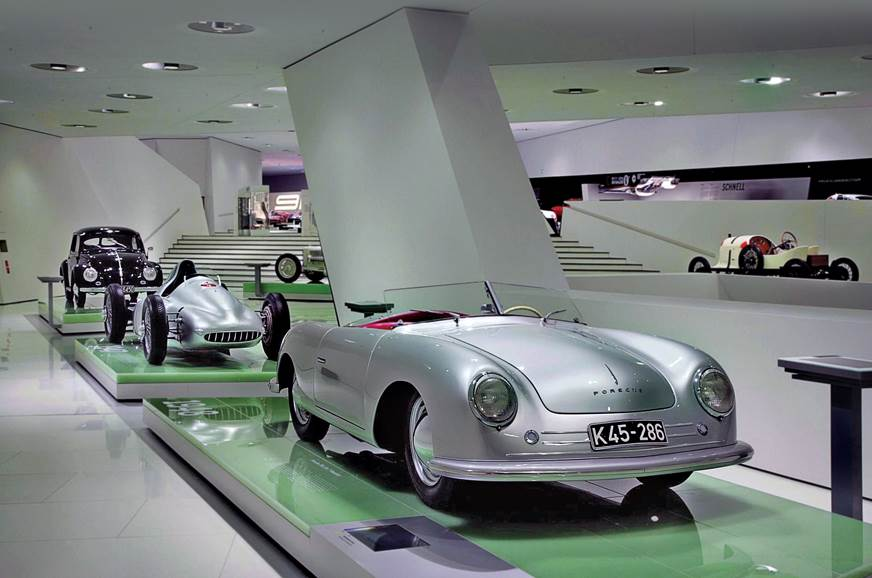 70 years of Porsche: Museum experience