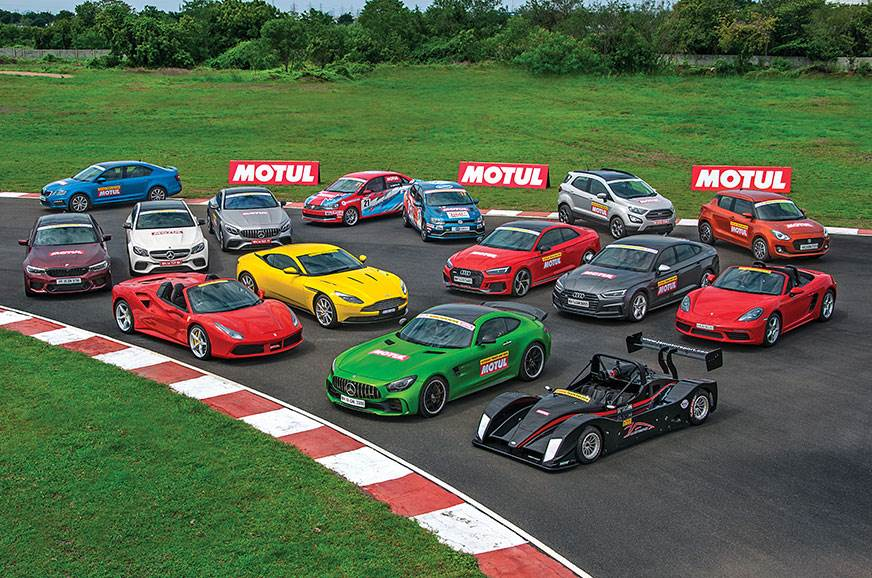 Autocar track day: India's best driver's cars 2018