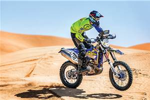 Sherco-TVS Rally bike ride experience