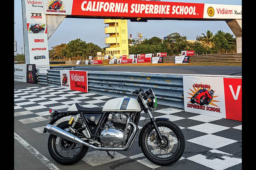 Royal Enfield Interceptor, Continental GT 650 at California Superbike School
