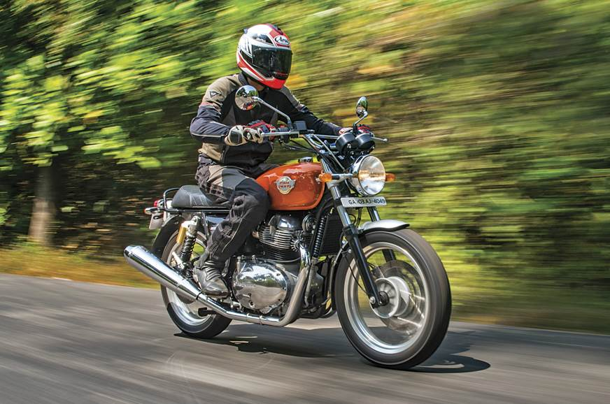 Impressive levels of performance and comfort makes the Interceptor 650 a good touring option.