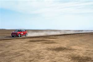 Record Rann: Mahindra XUV300 at the Rann of Kutch