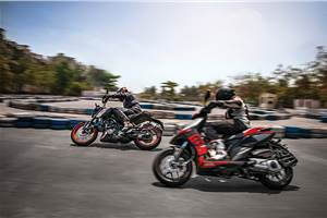 SR150 vs 125 Duke: Scooter or bike?
