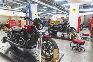 At your service: Harley-Davidson University experience