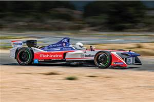 Electrifying formula: Driving a Formula E car