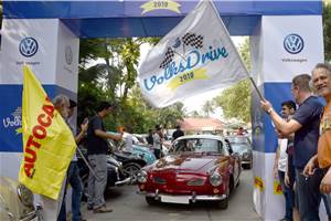 Slideshow: 2019 VolksDrive draws crowds from all over Mumbai