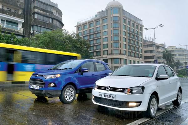 Ford EcoSport Auto vs Volkswagen Polo GT TSI