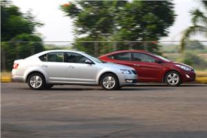 New Skoda Octavia vs Hyundai Elantra