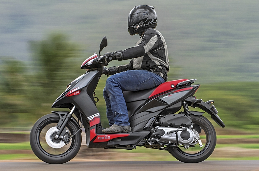 The Aprilia SR150 is simply unmatched in terms of performance and handling.