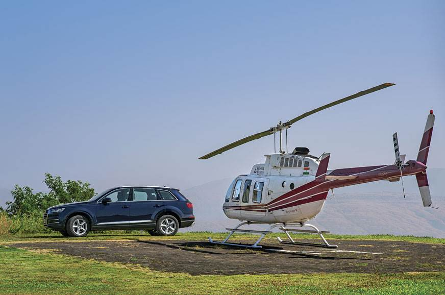 Luxury: By land or by air