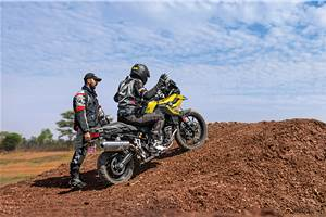 Living Large: BMW Motorrad GS Experience