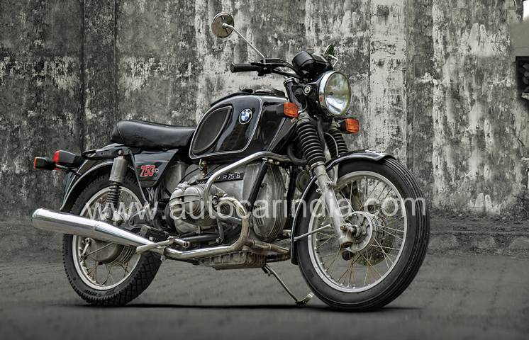 1975 BMW R75/6 ride experience