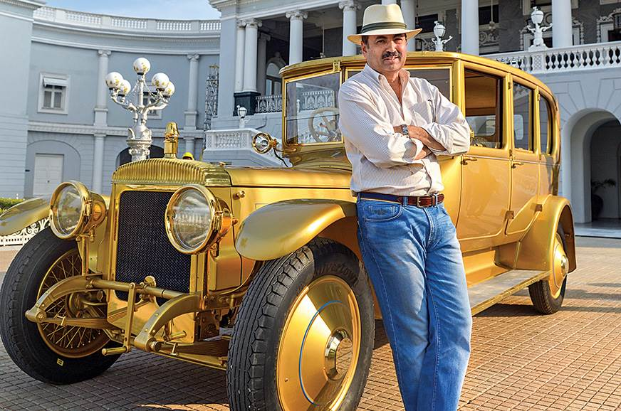 Restoring the 1919 Gold Daimler was one of the high points of Singh's career.