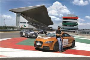 Sponsored feature: Audi track to track