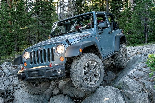 Experience: Jeep Rubicon -- Blazing trails