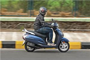 Looking for a 125cc gearless scooter