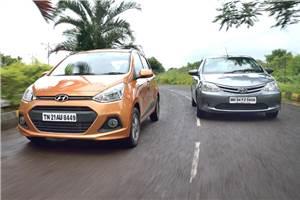 Hyundai Grand i10 diesel vs Toyota Liva diesel