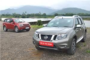 Nissan Terrano vs Mahindra XUV500