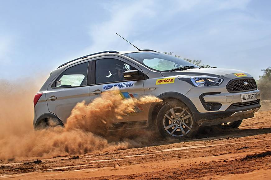 Ladies, Start Your Engines... - Ford #SheDrives pro driving school feature