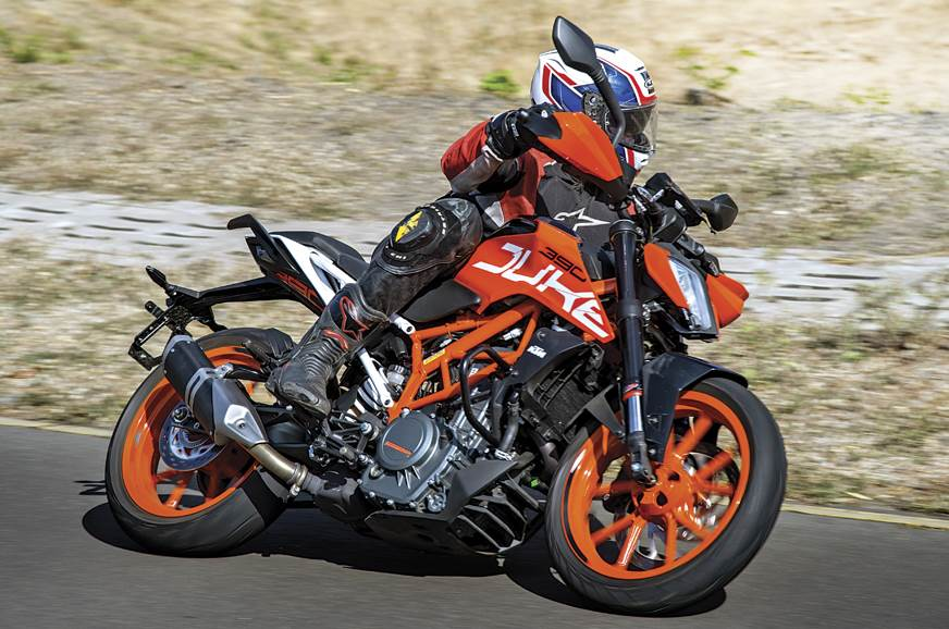 Modifying a KTM RC390