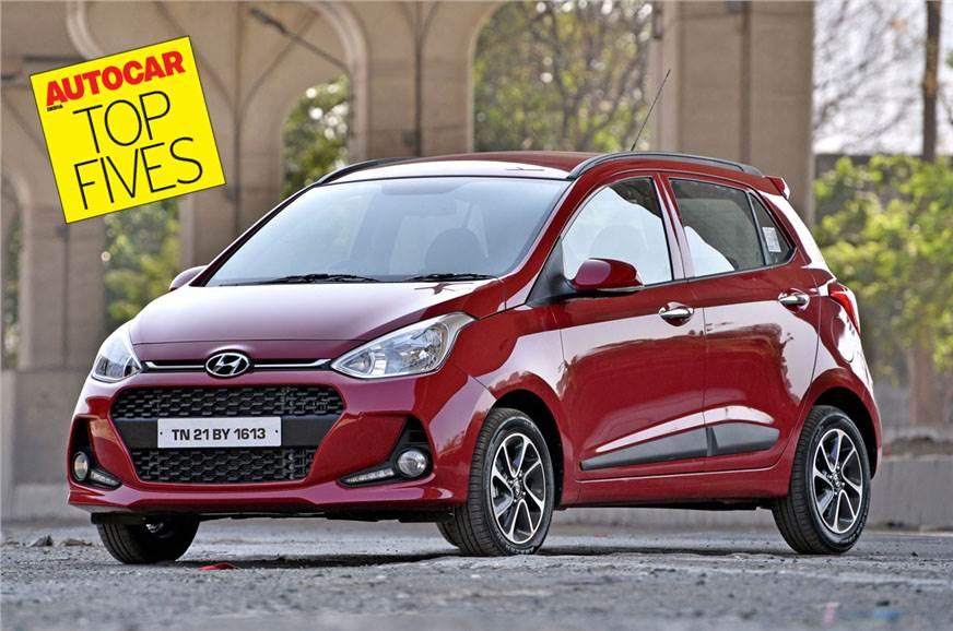Autocar Top Fives: Mid-size petrol automatic hatchbacks
