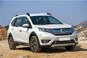 Upgrading the tyres on a Honda BR-V