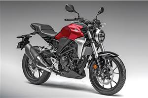 Buying a Honda CB300R from the early lot