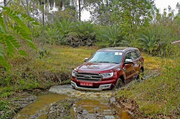 Great Ford Endeavour Drive experience