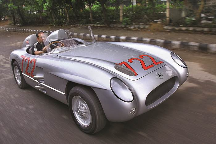 1955 Mercedes 300 SLR vs SLS AMG