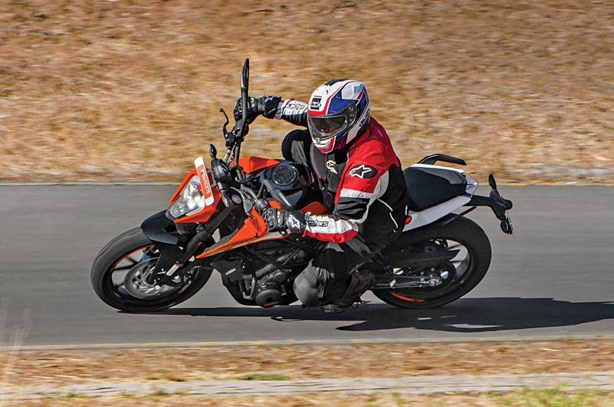 The KTM 250 Duke is a quick but relatively comfortable option.