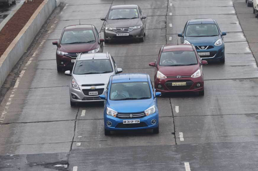 Poor lane disicpline