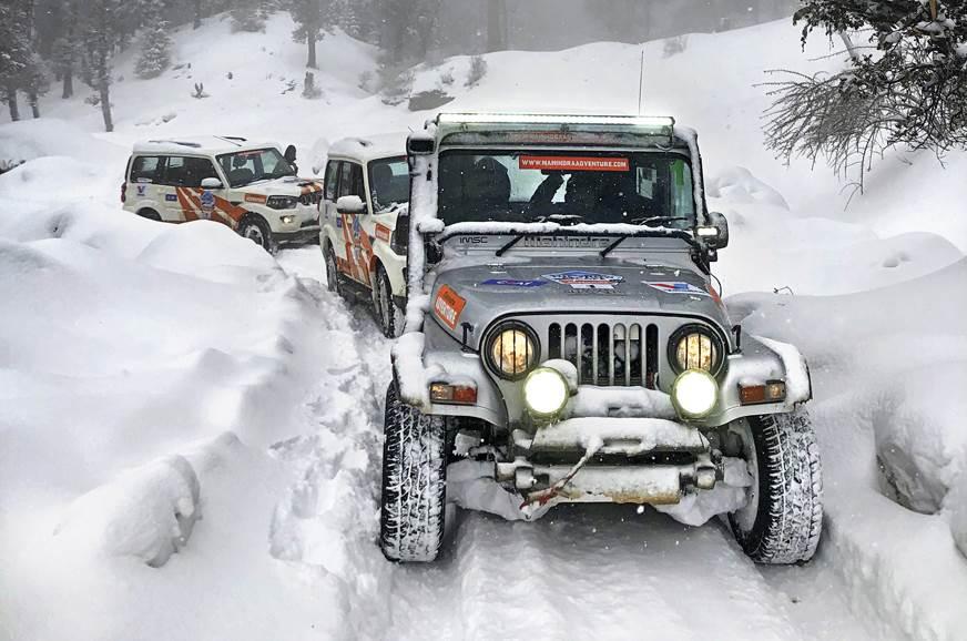 Mahindra Snow Escape drive experience
