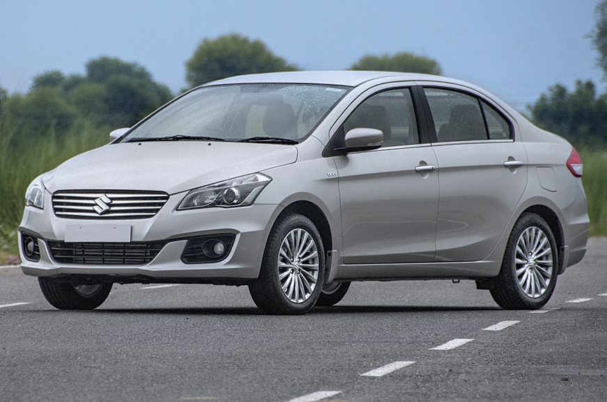 The Ciaz is a good option as it offers a lot of space, a comfy ride and a smooth engine.