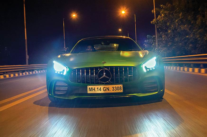 Fly by night: Mercedes-AMG GT R in Mumbai