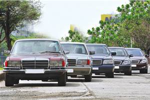 The S-uper Class: Five generations of the Mercedes S-class