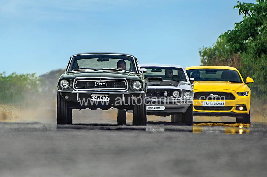 Ponytale: 3 iconic Ford Mustangs driven