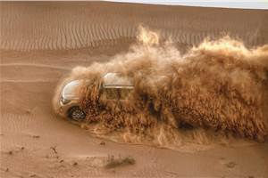 Nissan Desert Drive Experience