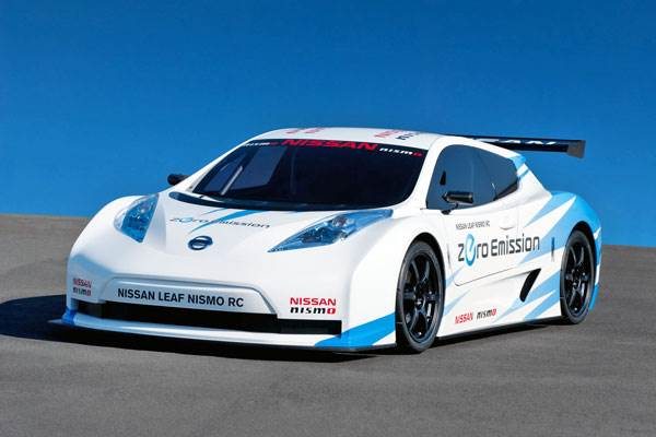Driving the Leaf Nismo RC