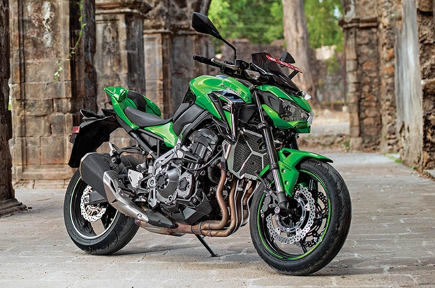 The Kawasaki Z900 is an easy big bike to live with in the urban jungle.