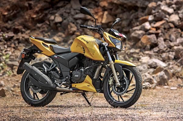 Mahindra Mojo or TVS Apache RTR 200