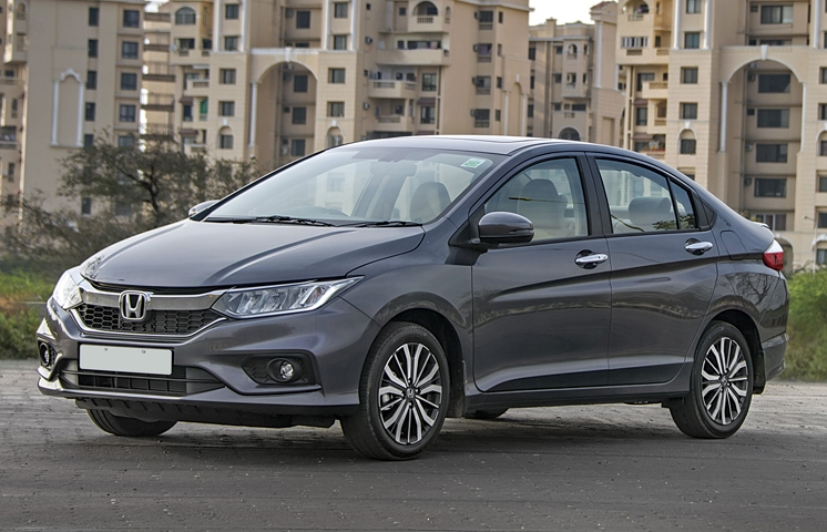 The Honda City is a reliable sedan with a refined petrol engine.