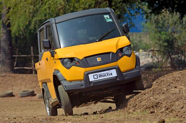 Driving experience in the Eicher Polaris Multix
