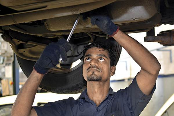 A car, even if hardly used, needs regular servicing.