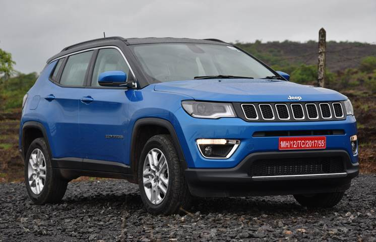 Larger wheels for the Jeep Compass