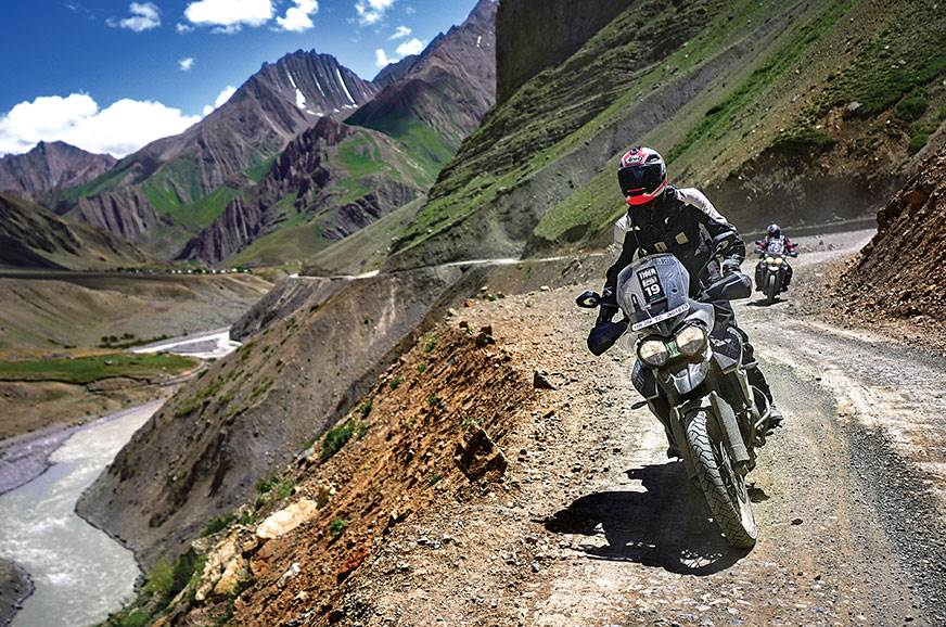 Triumph Tigers In Spiti Valley ride experience