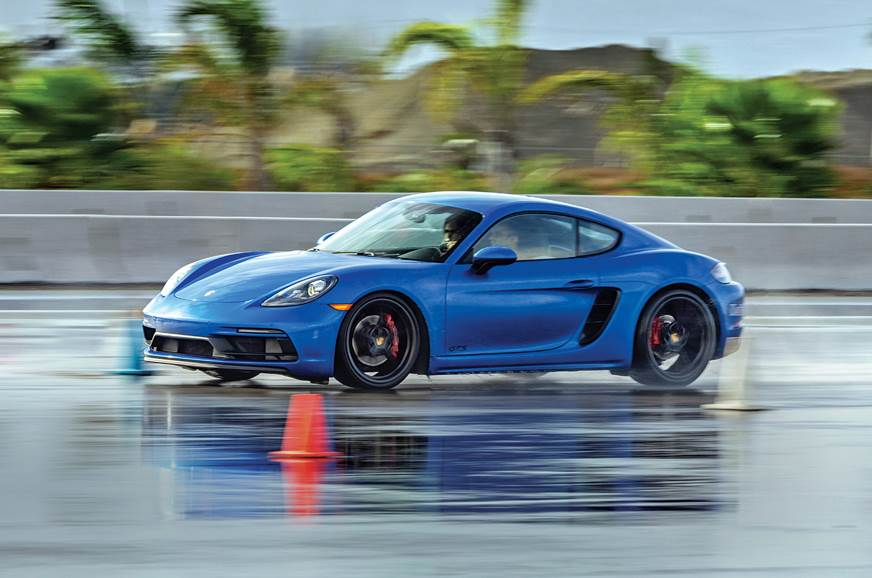Porsche Cayman GTS track drive experience