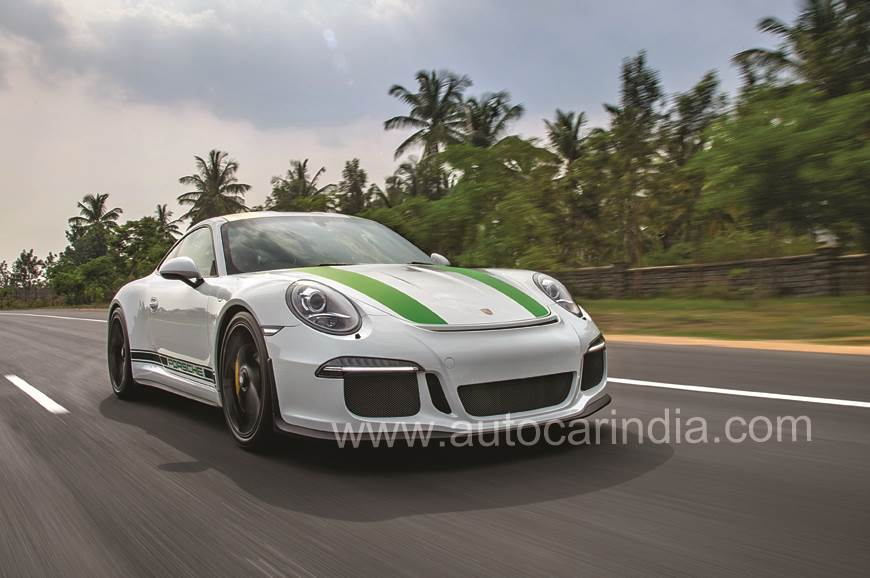 911 R: Driving the purest Porsche in India