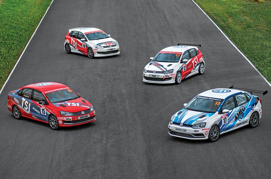 2017 Volkswagen Ameo Cup car drive experience
