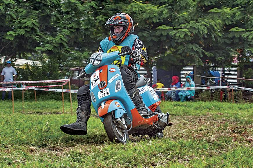 Back to Basics: 2017 Gulf Monsoon Scooter Autocross