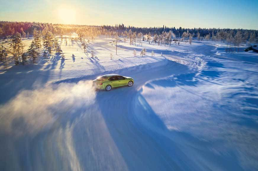Taking it ice and snow: Skoda Ice Drive